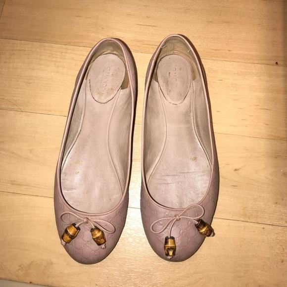 7eb30e5a942 Gucci Shoes - Classic Gucci Pink Nude Flatshoes.
